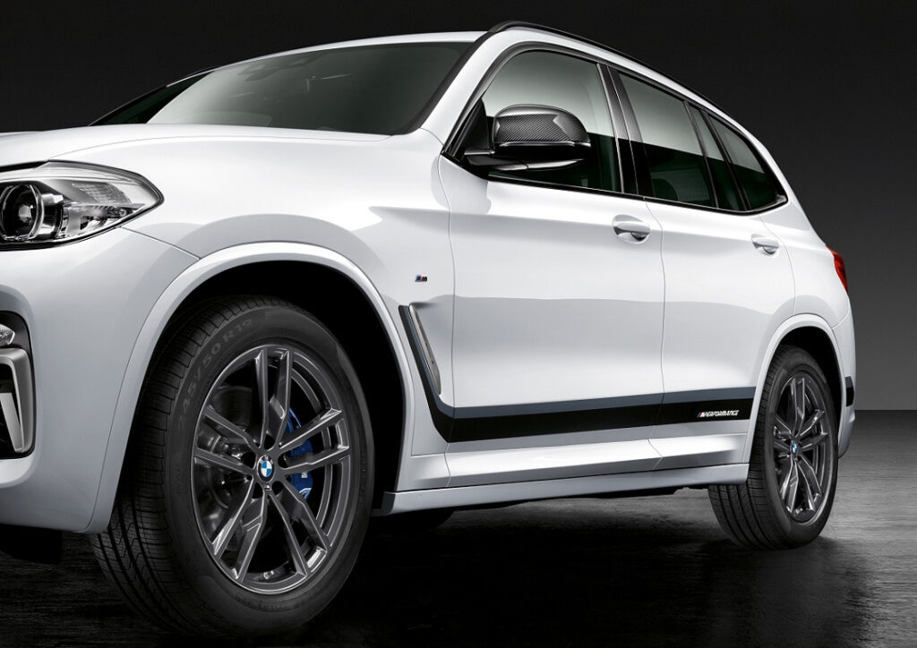 P90295148 highRes the new bmw x3 with  1024x724 - Accesorios M Performance para los nuevos BMW X