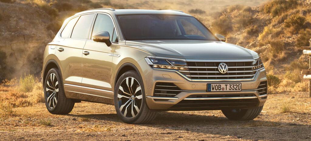 vw touareg 1 1024x466 - Filtrado el nuevo Volkswagen Touareg