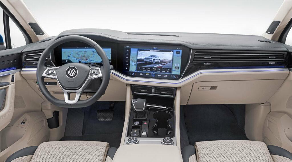 vw touareg 1 1024x568 - Filtrado el nuevo Volkswagen Touareg