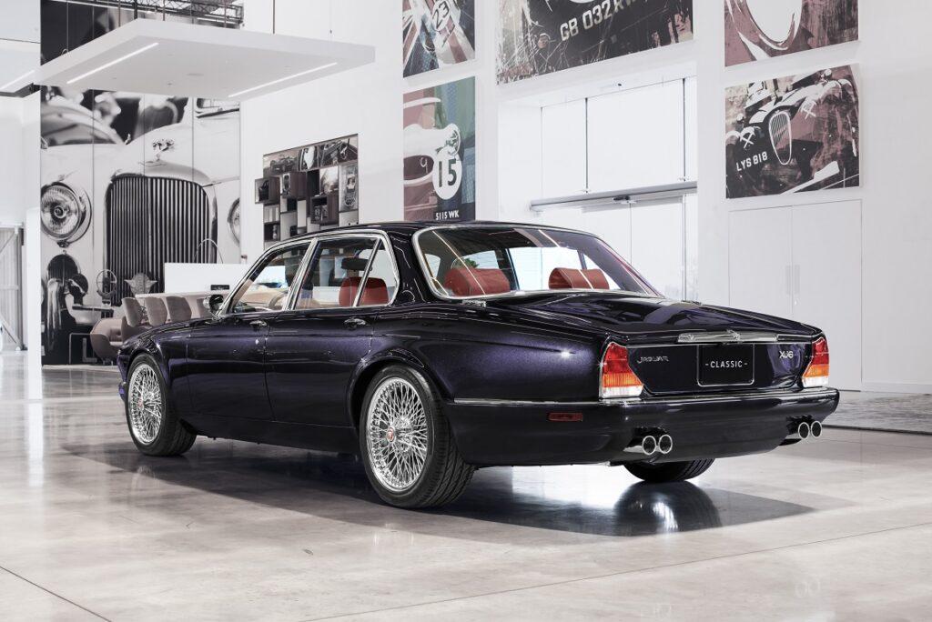 xj6nickomcbrain5 1024x684 - El exclusivo Jaguar XJ6 de Nicko McBrain
