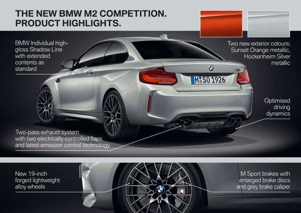 5AA8A2BF EF24 4FB5 8A2F 94E451F849AE 1024x724 - Nuevo BMW M2 Competition: alma de circuito