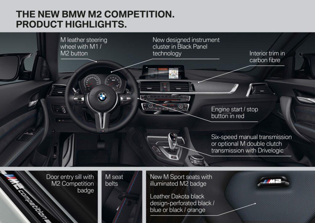 A93207CB 05B7 4A0B B7EC B1EA642986E6 1024x724 - Nuevo BMW M2 Competition: alma de circuito