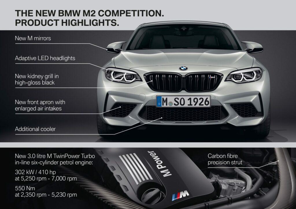 DA838252 7BE1 4300 A25F 229E2DF79B30 1024x724 - Nuevo BMW M2 Competition: alma de circuito