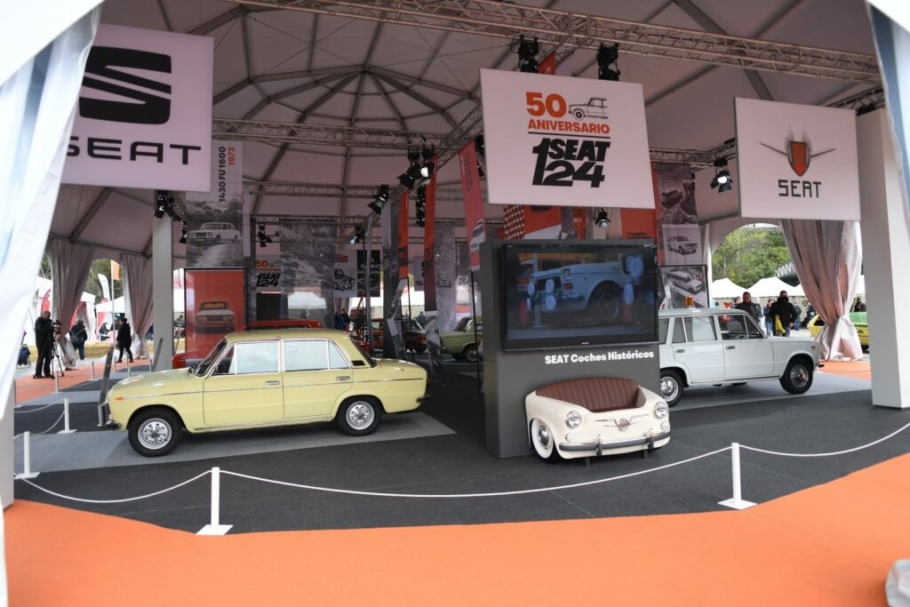 SEAT Festival 002 HQ 1024x683 - El Seat 124 cumple 50 años