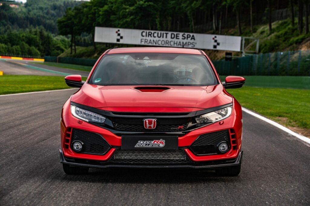 132833 Type R Challenge 2018 hits Eau Rouge Japanese Super GT star Bertrand 1024x683 - El Honda Civic Type R bate el récord por vuelta Spa-Francorchamps