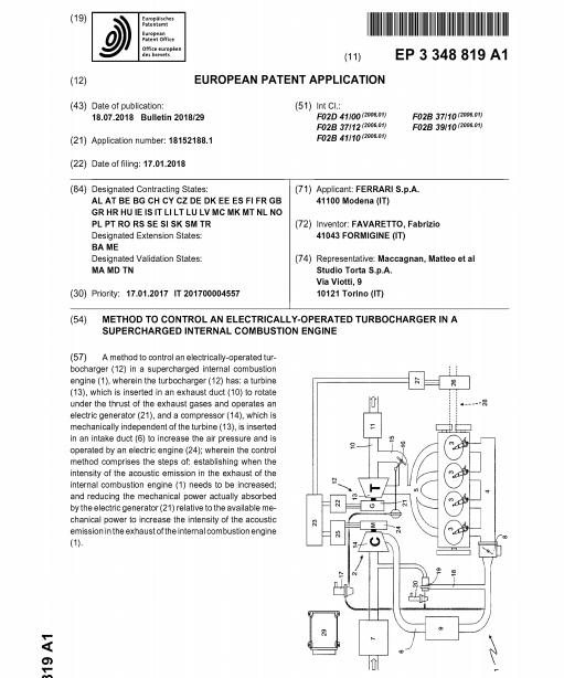 EA265CCF BAFB 4662 AE75 E2B326453CCD - Una patente de Ferrari causa un gran revuelo entre los puristas (y los no tanto)