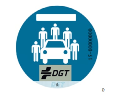 distintivo uso compartido - Novedades en el Reglamento General de Vehículos: nuevas matrículas, distintivos o definiciones vehículos