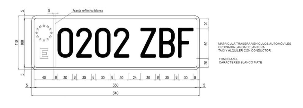 matricula taxi - Novedades en el Reglamento General de Vehículos: nuevas matrículas, distintivos o definiciones vehículos