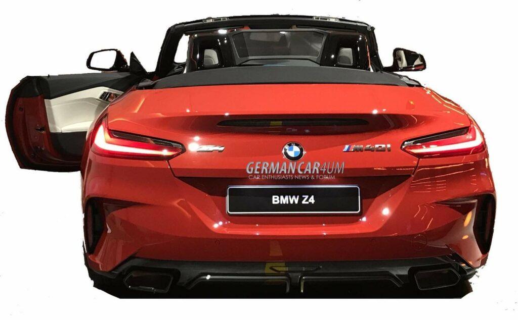 129A488A 1589 4D26 A693 EE6A327A8780 1024x634 - Filtrado el nuevo BMW Z4