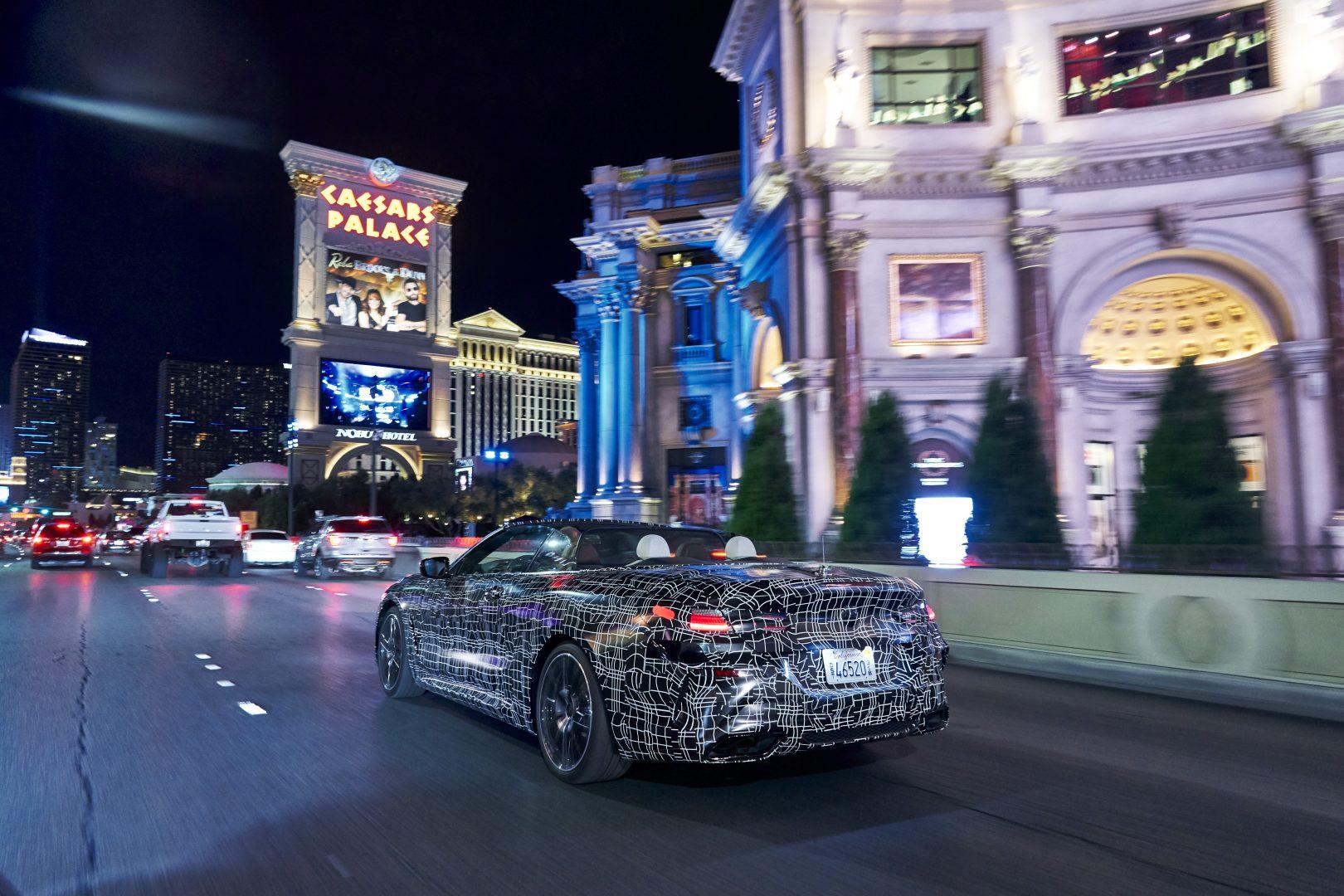El BMW Serie 8 Convertible ultima sus pruebas