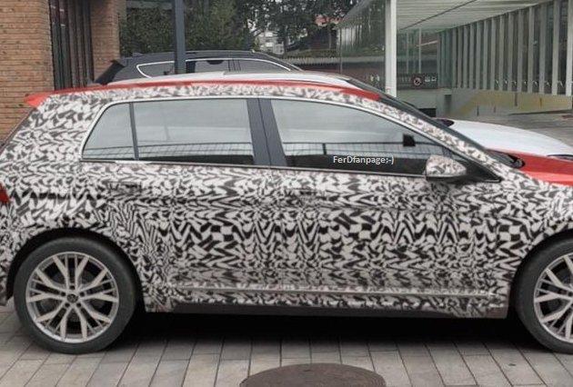 """294D887F 49B4 4144 8697 639AF6B8F936 - ¿Han """"cazado"""" al nuevo VW Golf VIII?"""