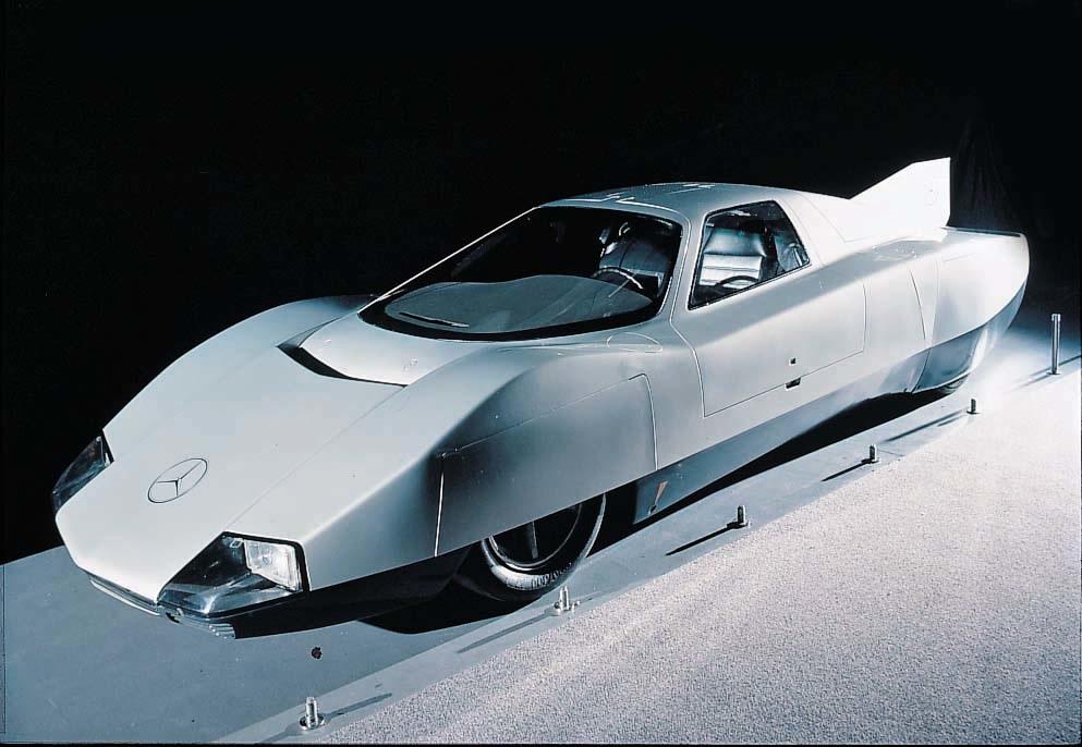 544665b 4 - Mercedes C111: el prototipo que marcó el camino a seguir