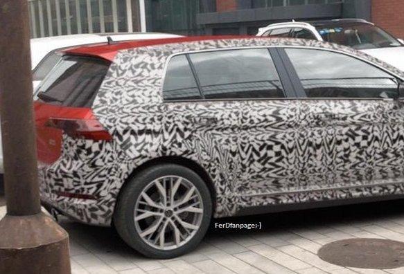 "7135F635 47B4 4F1F 9673 CB780DDBBADB - ¿Han ""cazado"" al nuevo VW Golf VIII?"