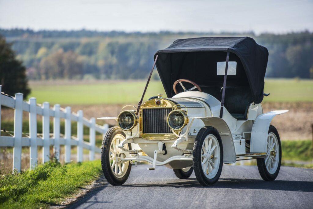 el museo koda presenta el unico modelo superviviente del coche deportivo laurin klement bsc de 1908 1024x684 - Laurin & Klement BSC: el primer deportivo de Skoda