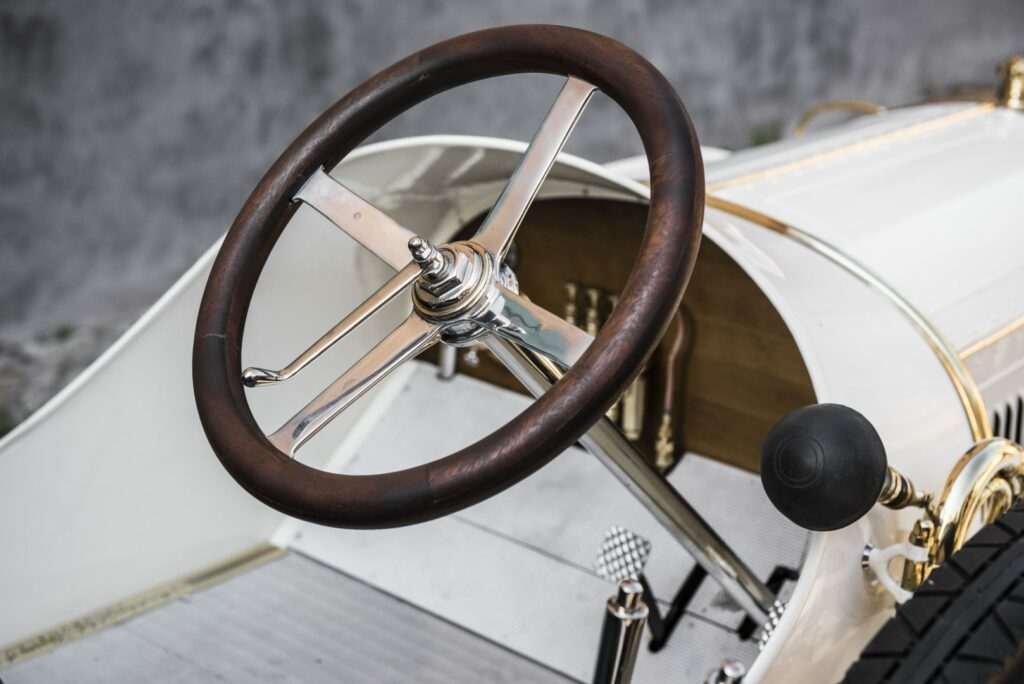 el museo koda presenta el unico modelo superviviente del coche deportivo laurin klement bsc de 1908 4 1024x684 - Laurin & Klement BSC: el primer deportivo de Skoda