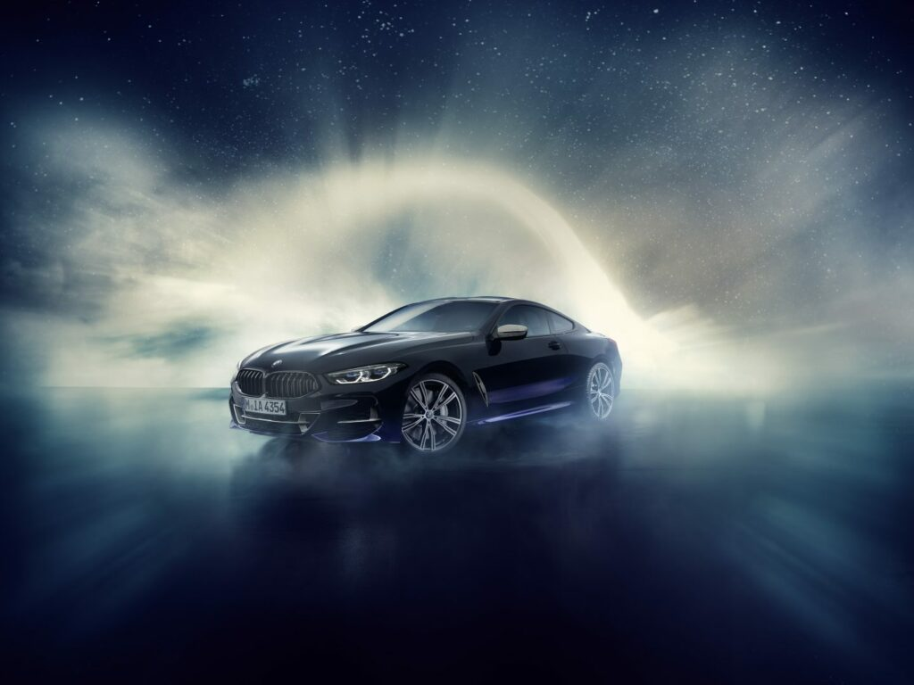 F6FC055E 6395 410F 81C4 37BFE5CCD383 1024x768 - BMW Individual M850i Night Sky: un meteorito en la carretera
