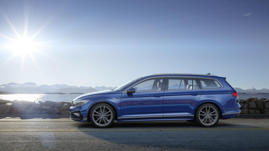 DB2019AU00117 medium 1024x576 - Volkswagen renueva el Passat centrado en la tecnología y la conducción autónoma